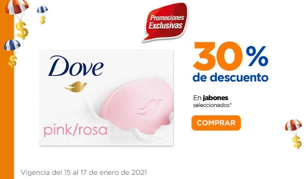 Chedraui: 30% de descuento en jabones de tocador Dove, Camay, Rexona y Savilé