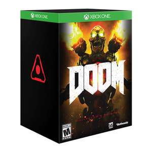 Amazon: Doom Collector's Edition para Xbox One y PS4