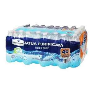 Sam's Club: Agua Purificada Member's Mark 40 pzas de 500ml ($1.7 pesos x botella)