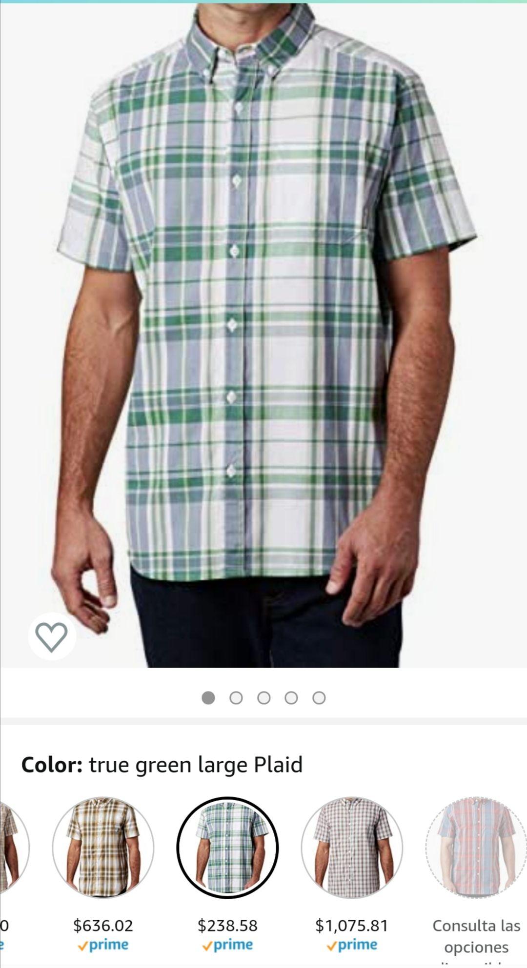 Amazon, Camisa marca columbia