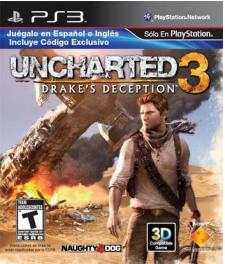 Game Planet: Uncharted 3 a $560 y steelbook con arte de regalo