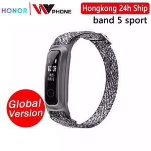 AliExpress: Honor band 5 sport gris/rosa