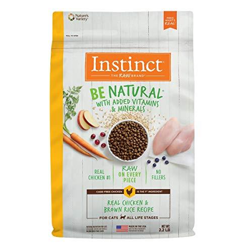 Amazon: Croquetas Instinct Be Natural de Pollo para Gatos 0.9 Kg + 100 g gratis