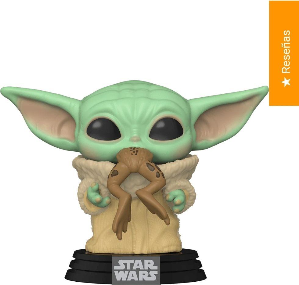 Distritomax: Funko Pop Star Wars: El Mandaloriano - Baby Yoda con rana