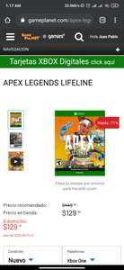 Game planet -Apex lifeline xbox one