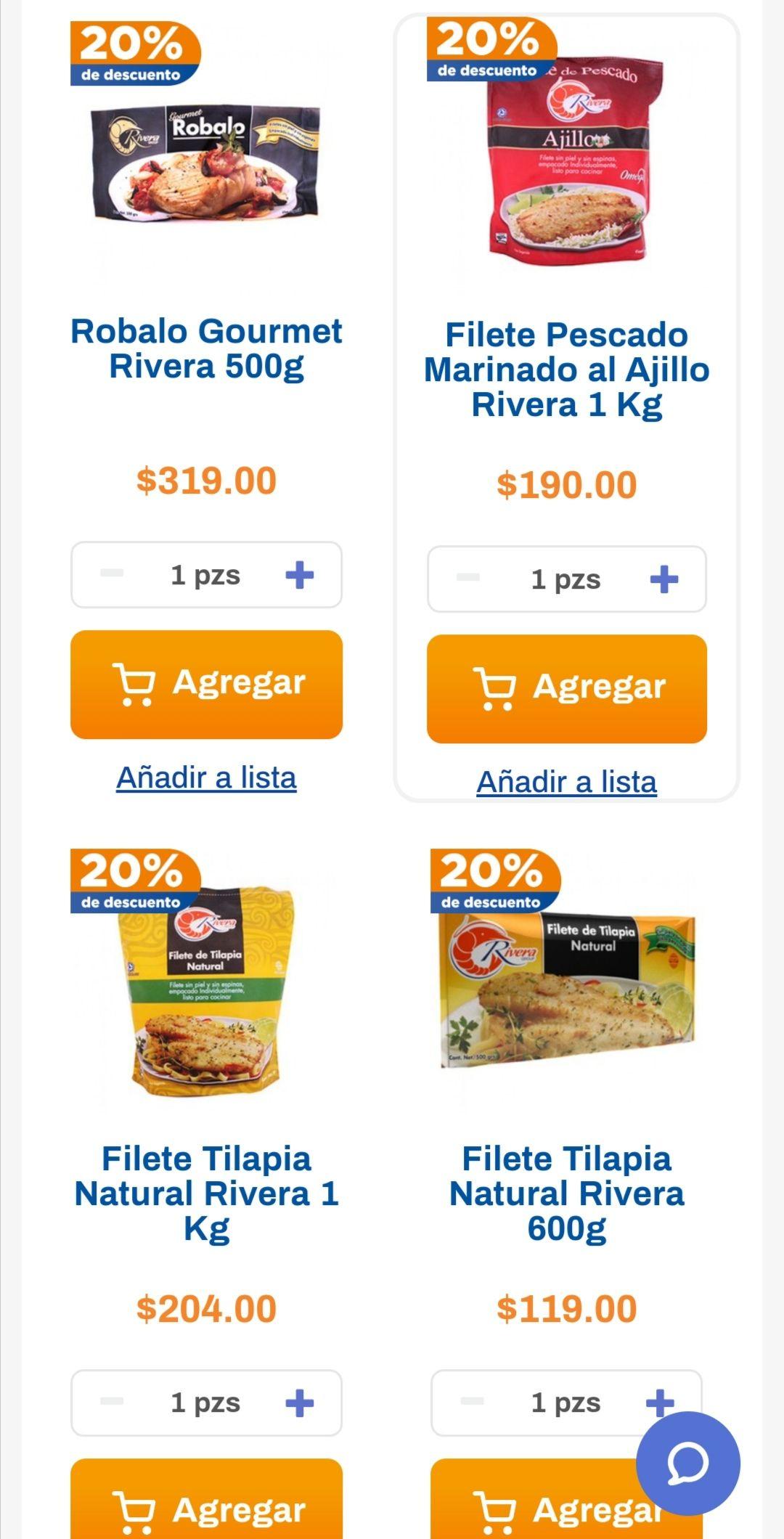 Chedraui: 20% de descuento en toda la línea Rivera Group