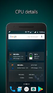 Google Play: Widgets - CPU | RAM | Battery