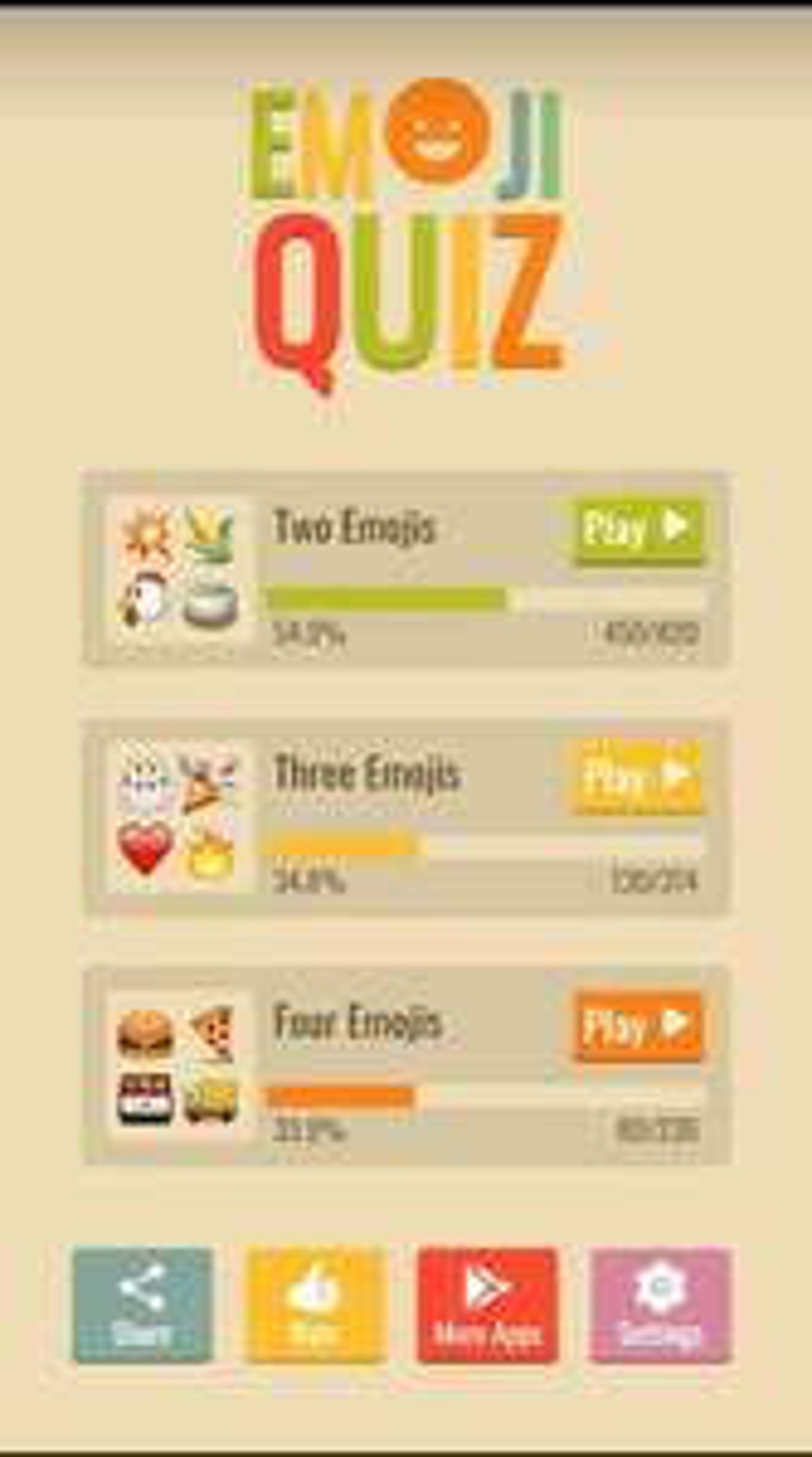 Google Play: Emoji Quiz