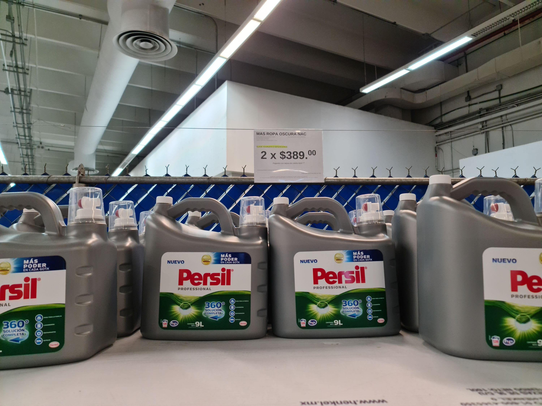 Sam's Club: 2 Detergentes Persil 9L por $389