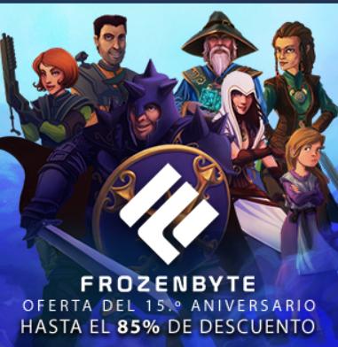 Steam: Ofertas de aniversario de Frozenbyte (Trilogía de Trine a $69)