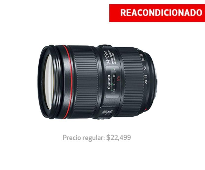 Tienda Canon: Lente Canon EF 24-105mm f/4L IS II USM Reacondicionado