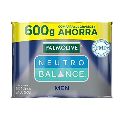 Amazon: 4 piezas de Jabón de Tocador Palmolive Neutro Balance Men en Barra 150 G