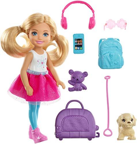 Amazon: Barbie Muñeca con Accesorios Chelsea Explora y Descubre