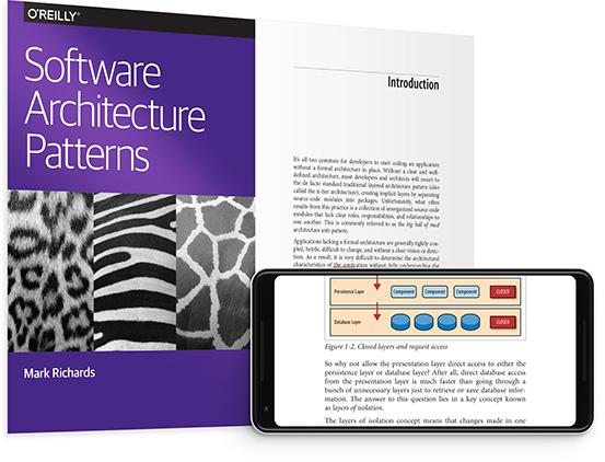 O'Reilly Libro descargable Software Architecture Patterns