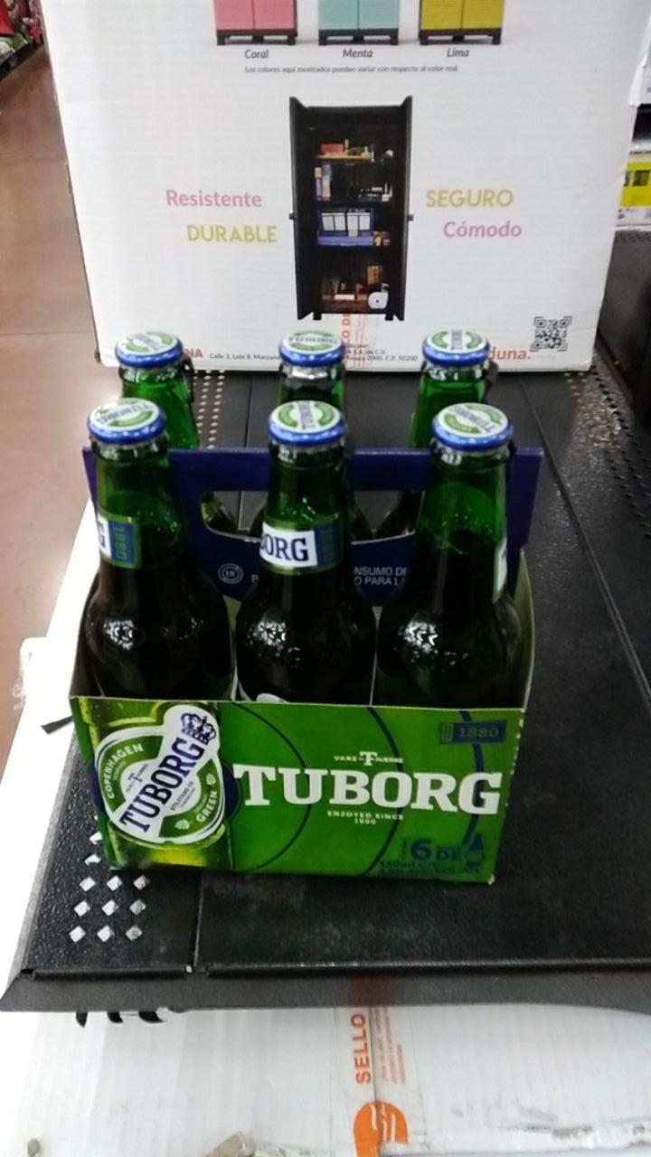 Walmart: six cerveza tuborg casi regalado