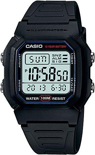 Amazon: Casio W-800H-1AVCF Reloj Digital para Hombre