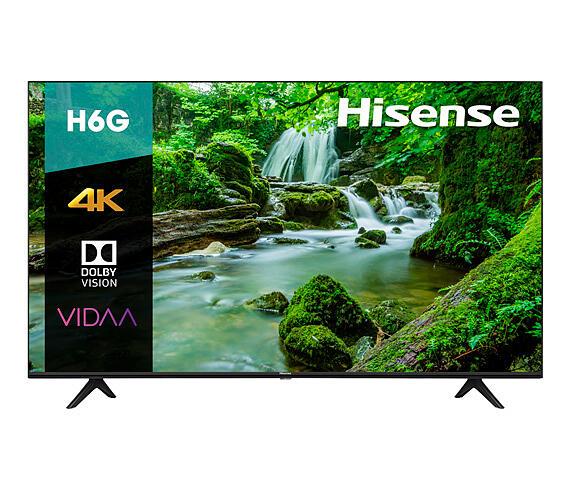 Elektra: TV, televisión o SmartTV, Pantalla LED Hisense 55 Pulgadas 4K Smart 55H6G
