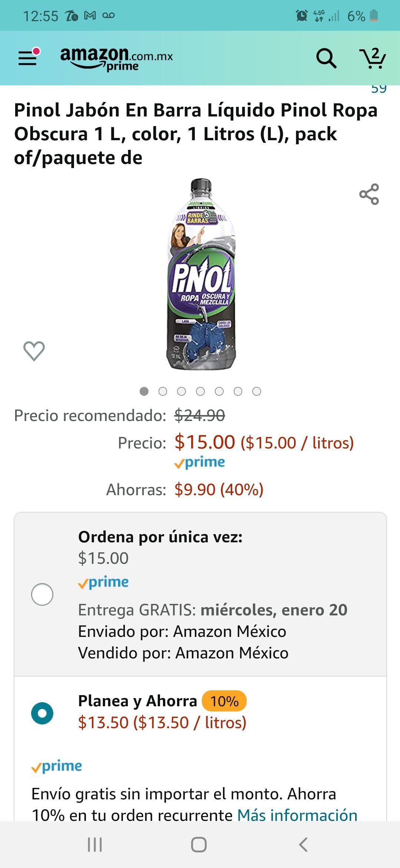 Amazon: Pinol Ropa Oscura