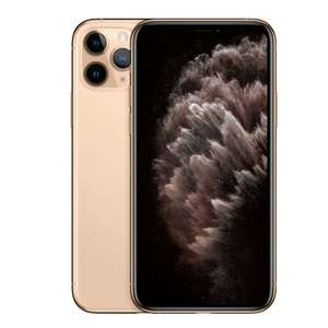 Best Buy: Apple - iPhone 11 Pro - 64 GB - Oro (AT&T) (oro y verde)