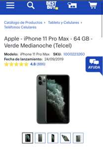 Best Buy: iPhone 11 Pro Max - 64GB