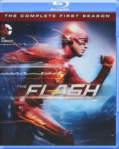 Amazon: Flash Temporada 1 Bluray +  Figura