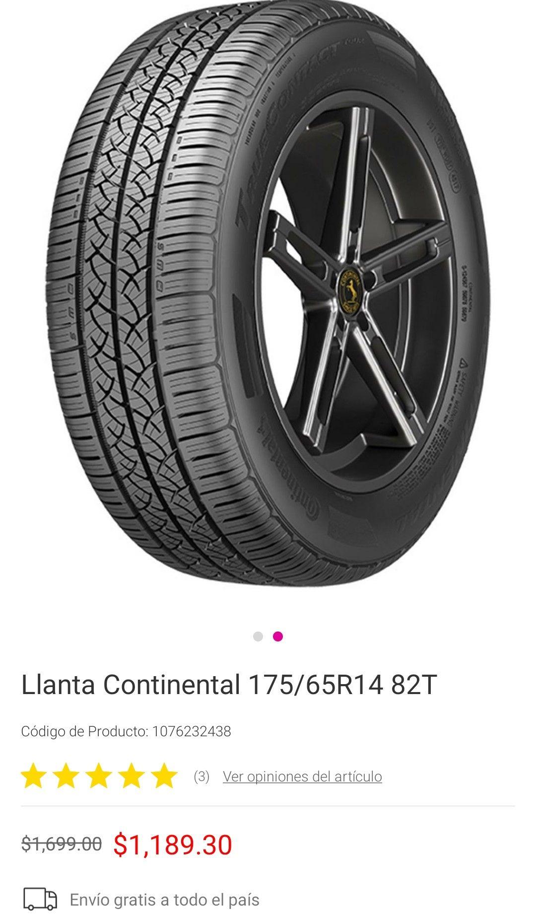 Liverpool Llanta Continental 175/65R14 28T