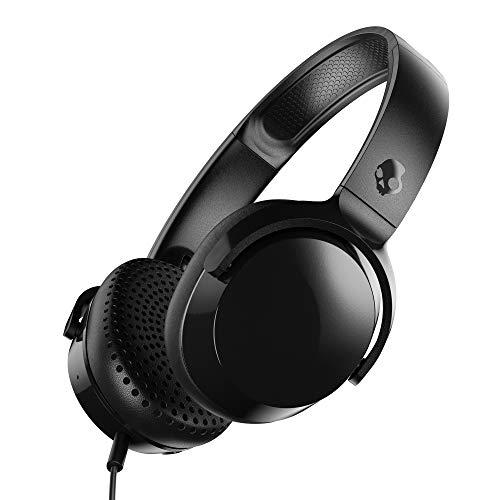 Amazon: Skullcandy Riff Audífonos con Micrófono con Cable Mod. S5PXY-L003 Negro