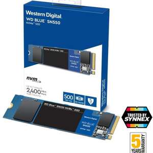 Cyberpuerta: Western Digital WD Blue NVMe 500GB