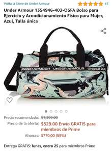 Amazon: Maleta (bolso) Under Armour para mujer
