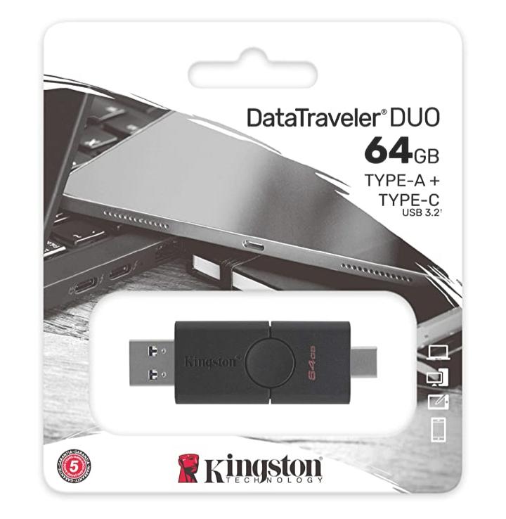 AMAZON - Kingston DataTraveler Duo 64 GB