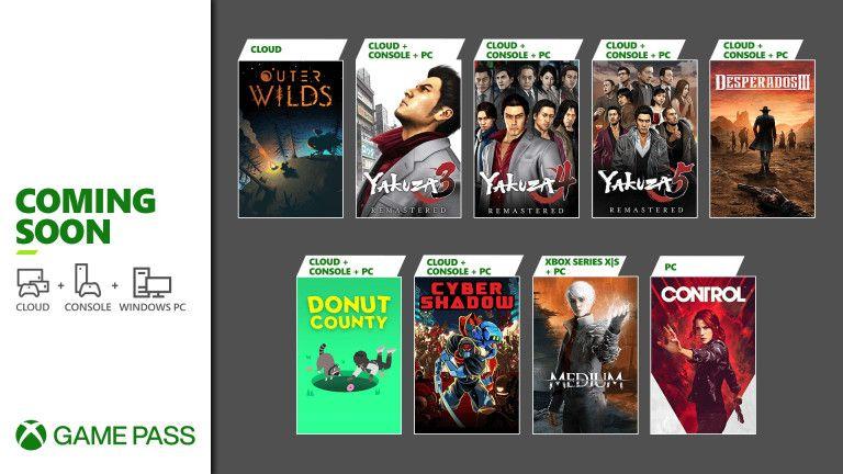 Xbox: Juegos que se unen al catálogo de Game Pass (Consola, PC y XCloud)