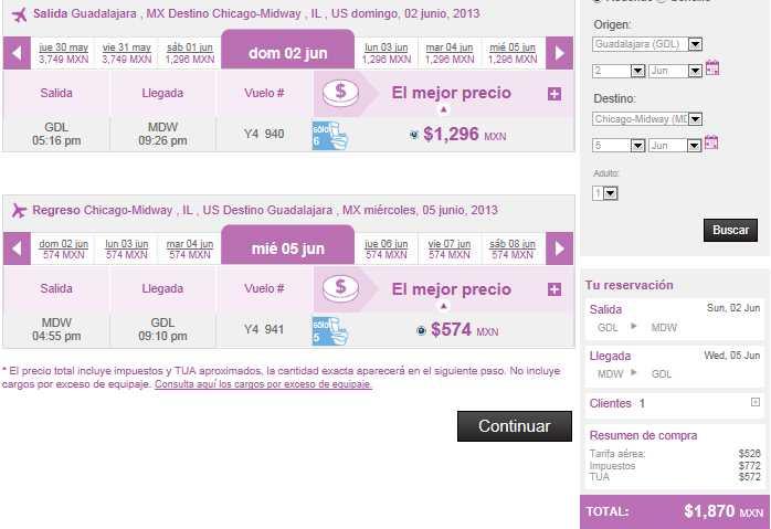 Volaris: viajes nacionales desde $499 y a EU desde $99 USD