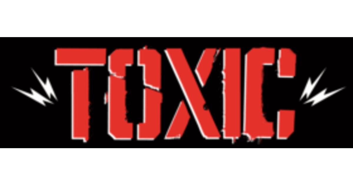 Variedad de playeras toxic