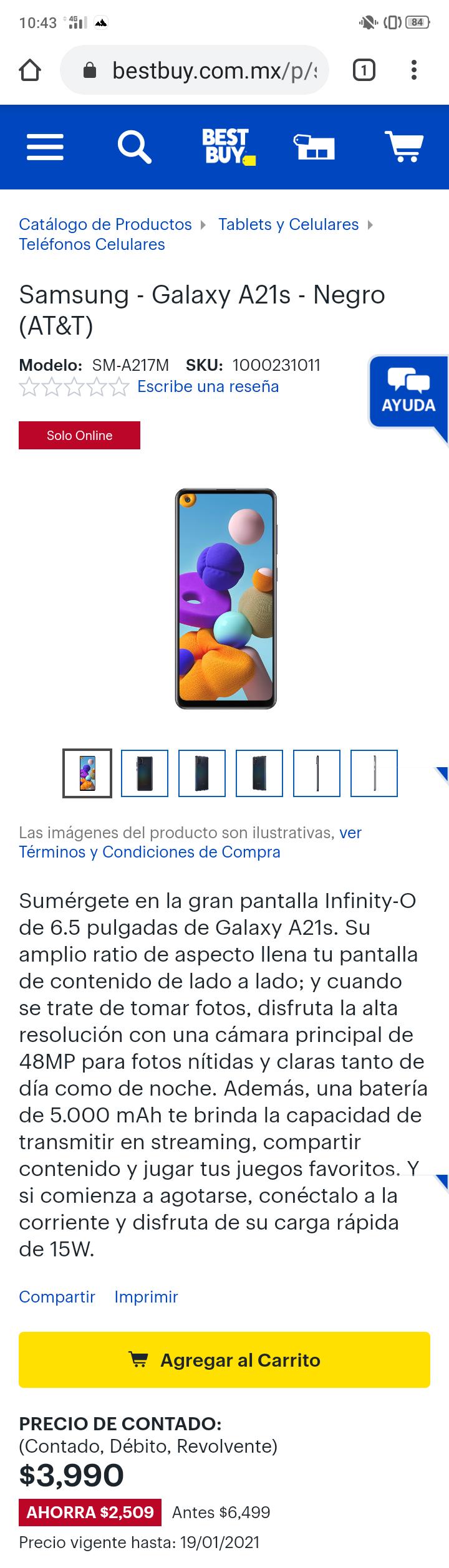Best Buy: Samsung A21's