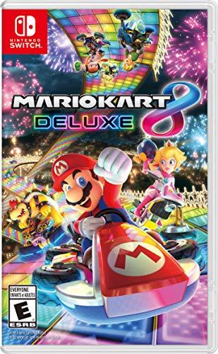 Amazon: Mario kart Deluxe 8
