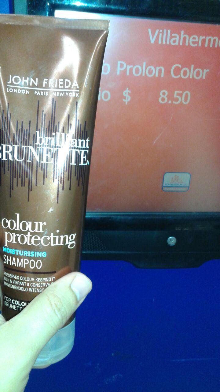 Chedraui Carrizal Villahermosa: shampoo jhon frieda protector de color oscuro a solo $8.50
