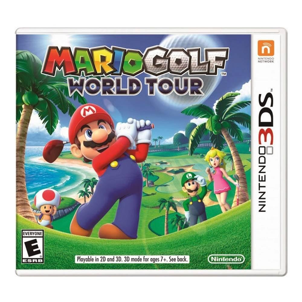 Walmart: Mario Golf World Tour para nintendo 3ds en oferta.
