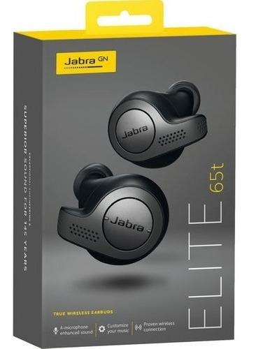 Amazon: Audífonos Inalámbricos Jabra Elite 65t con Estuche de Carga -Titanio