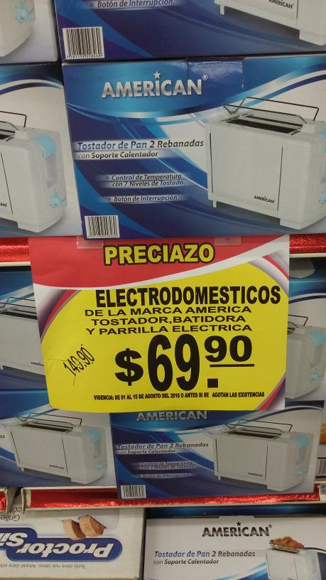Arteli Altamira: Tostador, Batidora y Parrilla Eléctrica de $149.90 a $69.90 cada uno y más