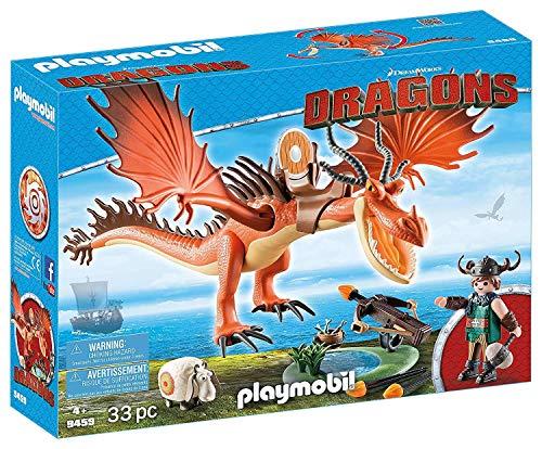 Amazon: Playmobil Dragons: Colmillo y Patán Mocoso