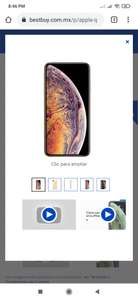 Best Buy: iPhone XS Max 512 GB Reacondicionado - Dorado (Desbloqueado)