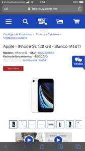 Best Buy: Apple - iPhone SE 128 GB (AT&T)
