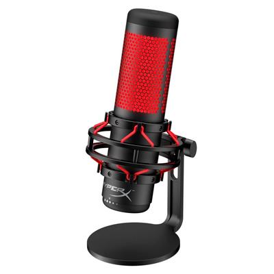 Digitalife: micrófono hyperx rojo