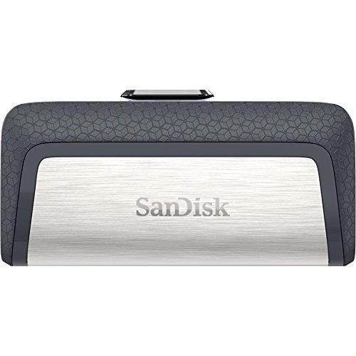 Amazon: SanDisk 128GB Ultra Dual Drive USB Type-C - USB-C, USB 3.1 - SDDDC2-128G-G46 Unidad Flash USB 128GB, USB 3.1, color Negro/Plata