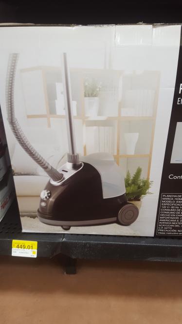 Walmart Símbolos Patrios: plancha de vapor en en su última liquidación a $449.01