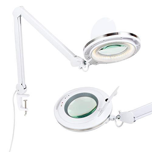 Amazon: Lámpara de escritorio con lupa
