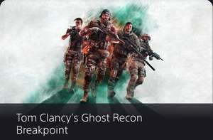 PSN Store: Ghost Recon Breakpoint (ps4)