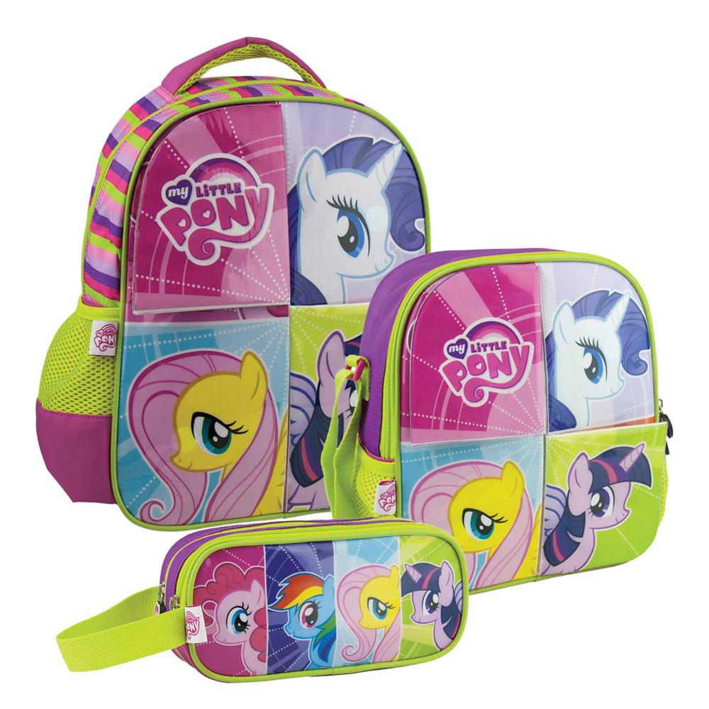 Walmart en línea: paquete de mochila, lonchera y lapicera My Little Pony