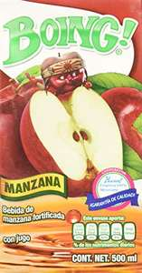 AMAZON: Boing Boing Jugo sabor Manzana de 500 Ml