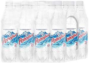 Amazon: PEÑAFIEL, Agua Mineral 600 ml, Botella Pet, 12 piezas